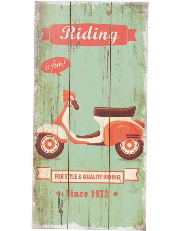 "Clayre & Eef Holzschild ""riding"""