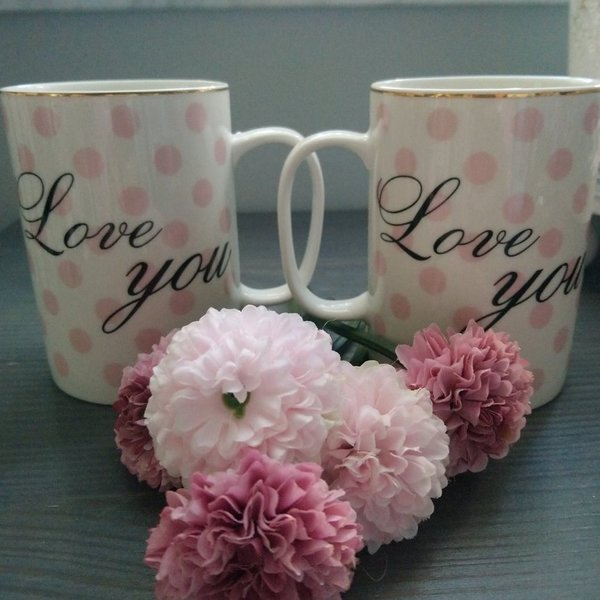 "Tasse ""Love you"""