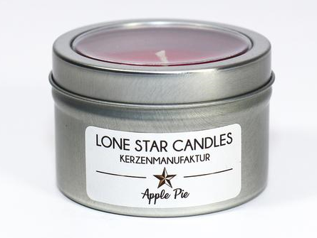 "Duftkerze Lone Star Candles ""Apple Pie"" klein"