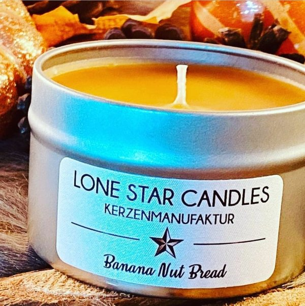"Duftkerze Lone Star Candles ""Banana Nut Bread"" klein"