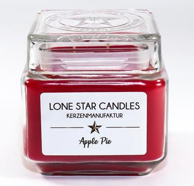 "Duftkerze Lone Star Candles ""Apple Pie"" groß"