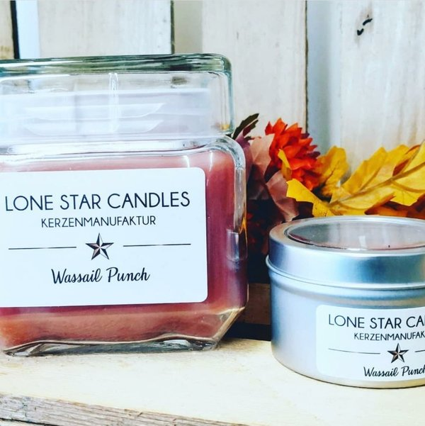 "Duftkerze Lone Star Candles ""Wassail Punch"" groß"