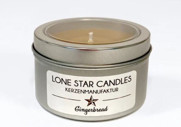 "Duftkerze Lone Star Candles ""Gingerbread"" klein"